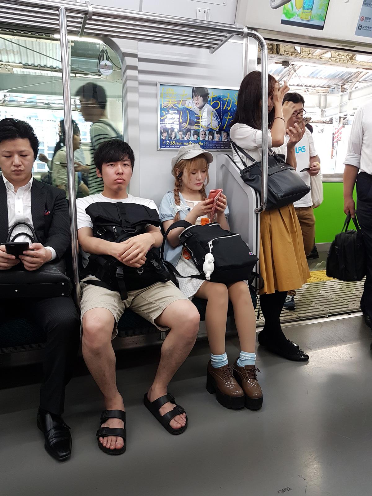 Смотреть онлайн публичный секс в метро